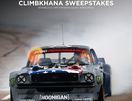 CLIMBKHANA – PRESENTED BY TOYO TIRES: THE NEXT EVOLUTION OF KEN BLOCK'S AWARD-WINNING GYMKHANA SERIES. A FILM OF MAN VS. MOUNTAIN. 14,000 FEET VS. A 1,400 TWIN-TURBO, METHANOL-FUELED HORSEPOWER MACHINE